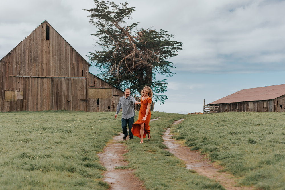Fort Bragg+Mendocino+California+Couples+photographer