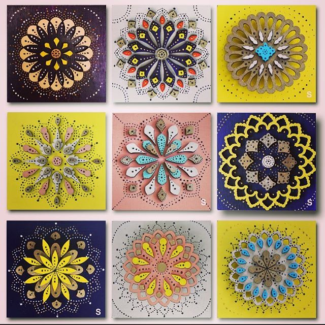 Come & visit us at @lagunaartafair and order your own set of mini mandalas. June29th- through Sep 3rd 2018  booth C15  #colorsoflife#summer#summerfestival#fineart#art#artist#woodart#mandala#gemofthecanyon#lagunaart#lagunabeach#allthingslaguna#detail#fineartfestival#artfestival#artafair#instaart#gem#colors#sacred#circle#dotwork#summerart#design#by#pegahei#pegaheidipour#instaartist #fineartist#summerofcolor