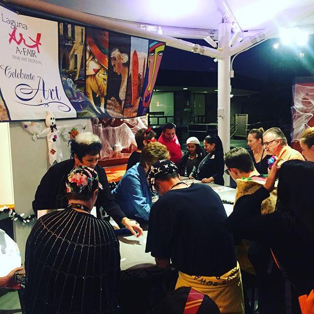 Join @lagunaartafair for a spectacular Halloween event at @festivalpageant 👻🎃 ⠀ For more info follow the link below:⠀ https://www.foapom.com/monsters⠀ .⠀ .⠀ .⠀ #lagunaartafair#allthingslaguna#summerofcolor#halloween#pageantofthemasters#familyevent#happyhalloween#halloween2018#candy#hauntedhouse#halloweenparty#lagunabeach#familyday#visitlagunabeach#artfestival#festival#monster#trickortreat