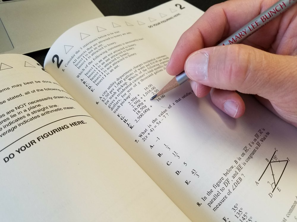 ACT SAT exam preparation