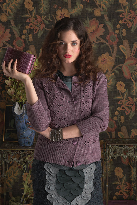 Vogue Knitting's Early Fall 2011  Photo by Paul Amato  Designer: Lisa Hoffman