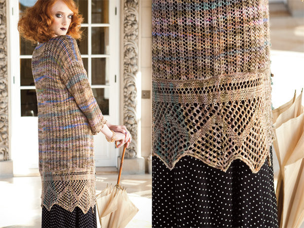 Vogue Knitting Spring/Summer 2010,  Photo by Rose Callahan  Designer: Maie Landra