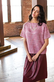 Boxy Top    Vogue Knitting Fall 2016   By: Courtney Cedarholm