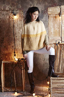 Colorblocked Poncho   Vogue Knitting Fall 2014   Rebecca Kevelson