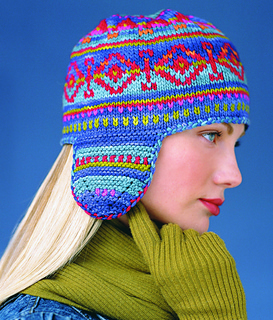 Fair Isle Hat   Vogue Knitting 2002/2003  By: Pam Allen