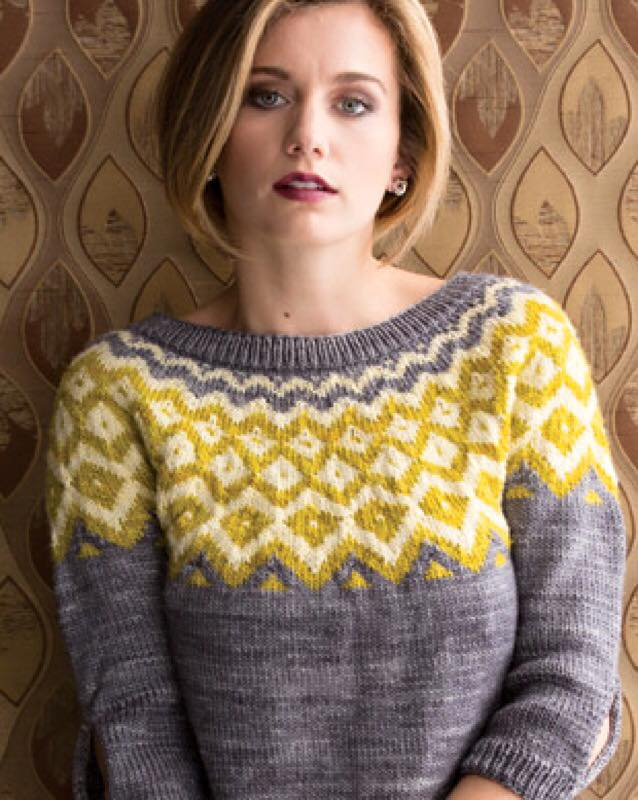 Vogue Knitting Winter 15/16  By: Jaqueline Van Dillen
