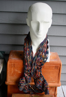 Too Many Friends?  - Joe Wilcox's blog continues to amuze followers for many years with stories of his knitting adventures! As of late he has been working on a Koigu lace scarf, among many other Koigu projects!