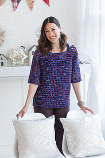 Crochet Top by Jaqueline van Dillen - Crocheted in KPPPM