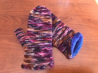 Carolyn  - Koigu Kersti - Finished January 2018Love knitting with Koigu - The colours and quality is amazing.These mittens are getting lots of use this month!From Waterloo, ON