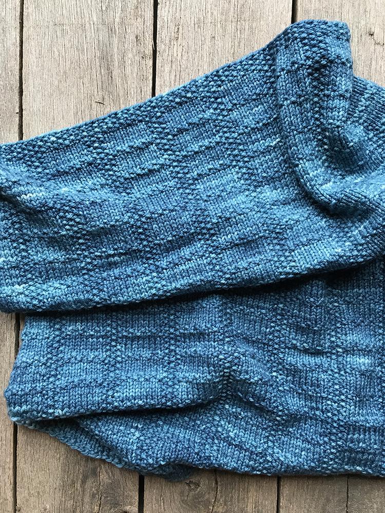 Judah Blanket -By: Maie Landra - Knit in Koigu Chelsea5 skeins if C5513