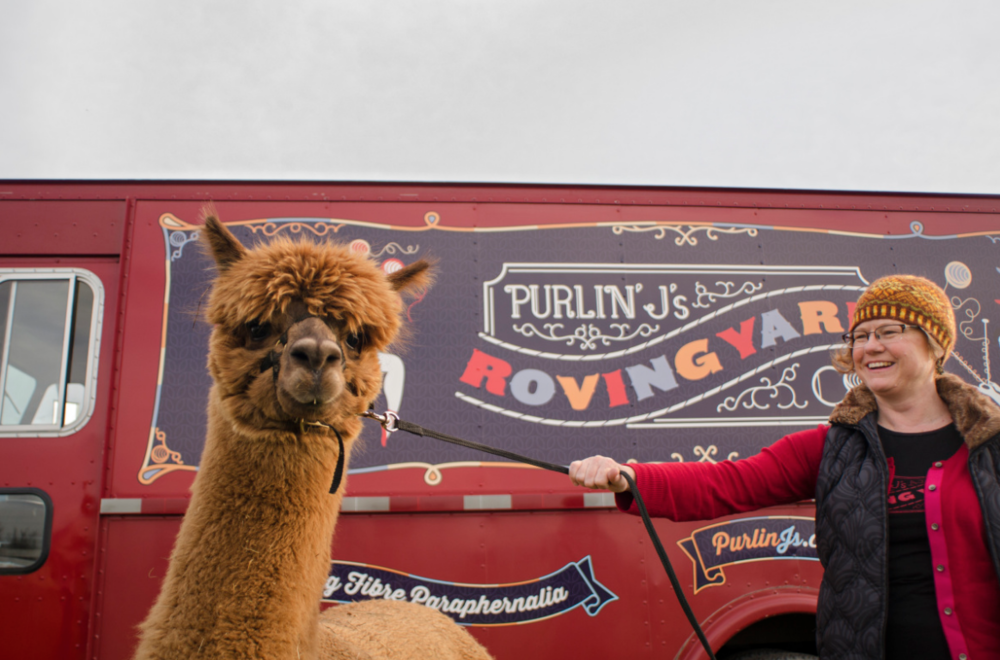 Purlin' J's Roving Yarn Company - Purlin' J's Roving Yarn Co. Is the first and only mobile yarn shop serving Kingston and Eastern Ontario, Canada.  Email:  info@purlinjs.ca https://purlinjs.ca/