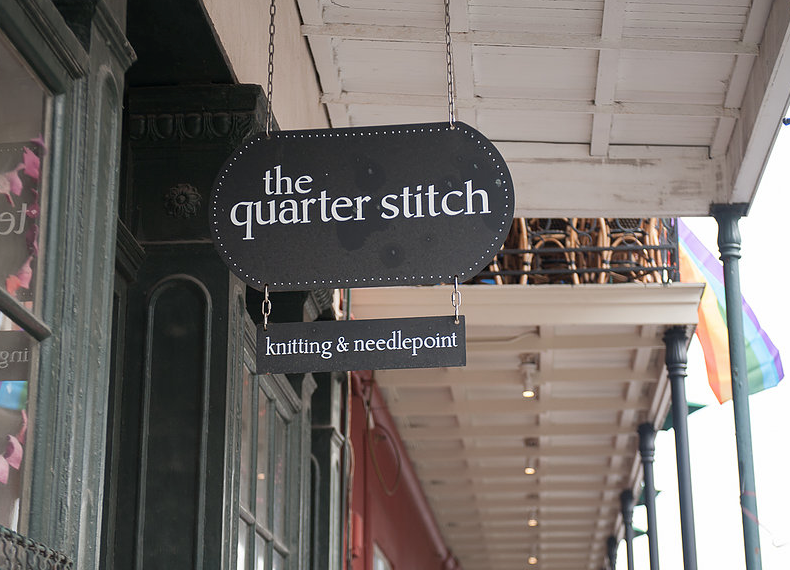 The Quarter Stitch - Address: 629 Chartres St, New Orleans, LA 70130, USAPhone: +1 504-522-4451https://www.quarterstitch.com/