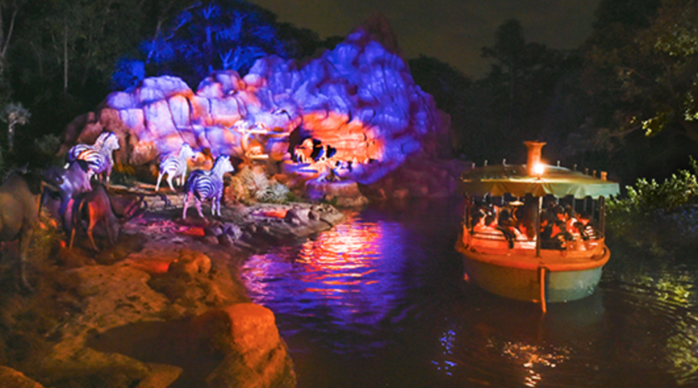 Jungle cruise at Tokyo Disneyland (Photo via D23.com).