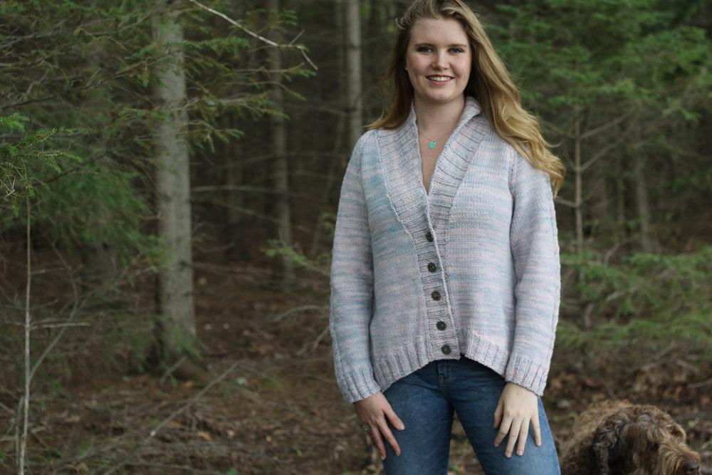 Kara Cozy Sweater  By: Janice Sumpton