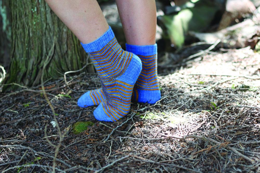 Zigazaya Socks  By Caroline Dick