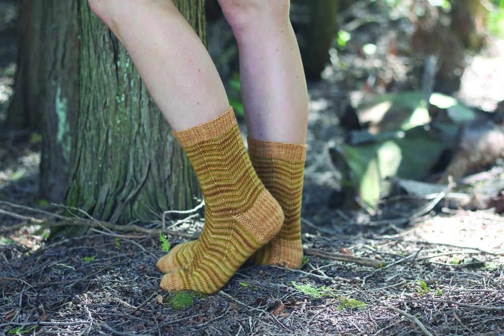 Zigazaya Socks  By: Caroline Dick
