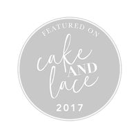 Featured on Cake + Lace