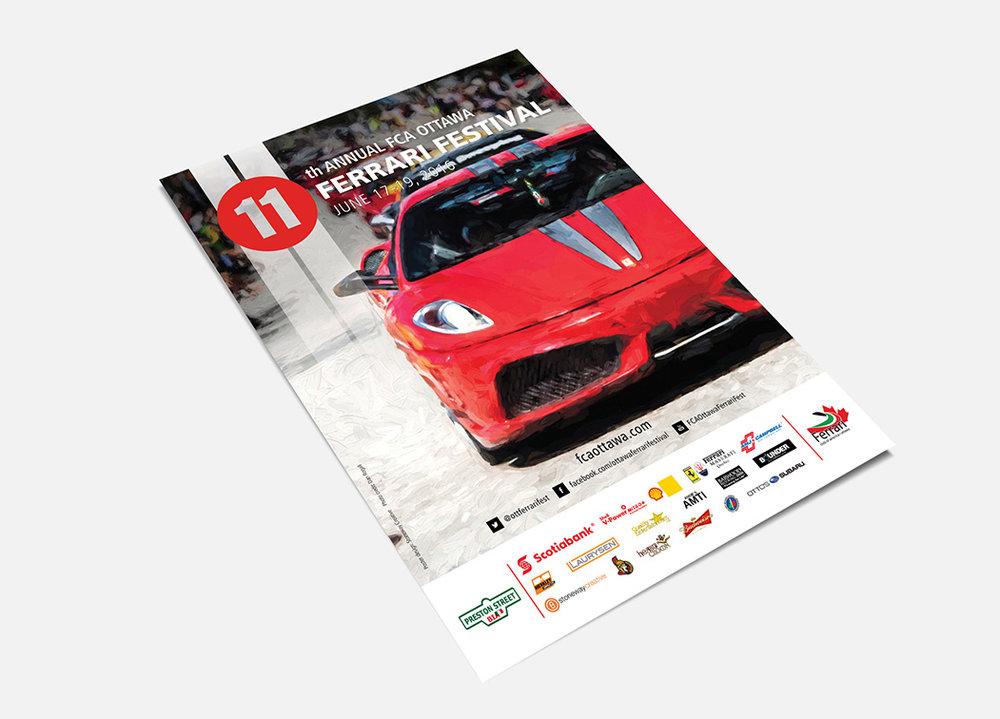 Ferrari Festival Poster