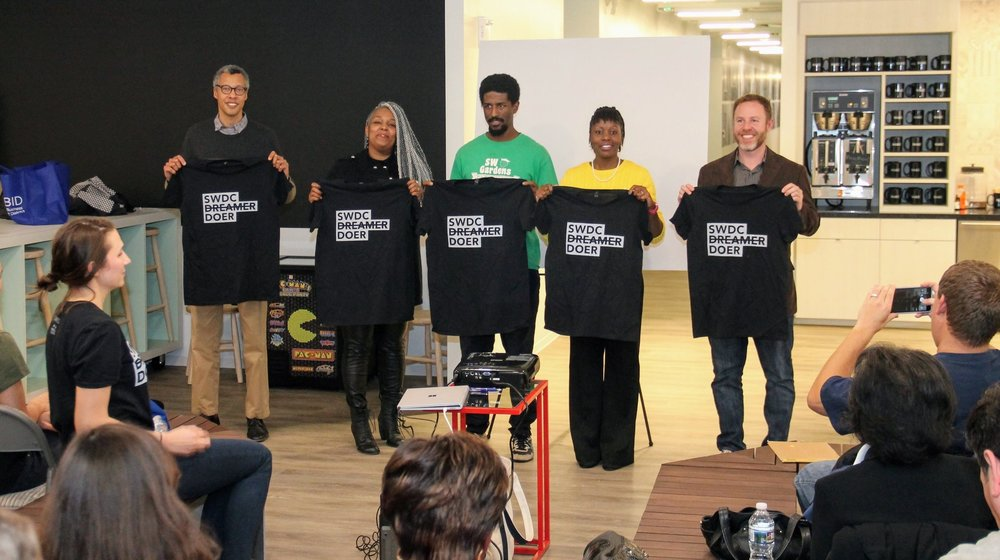 Five finalist from SWBID and SWNA's first pocket change event in february 2018.