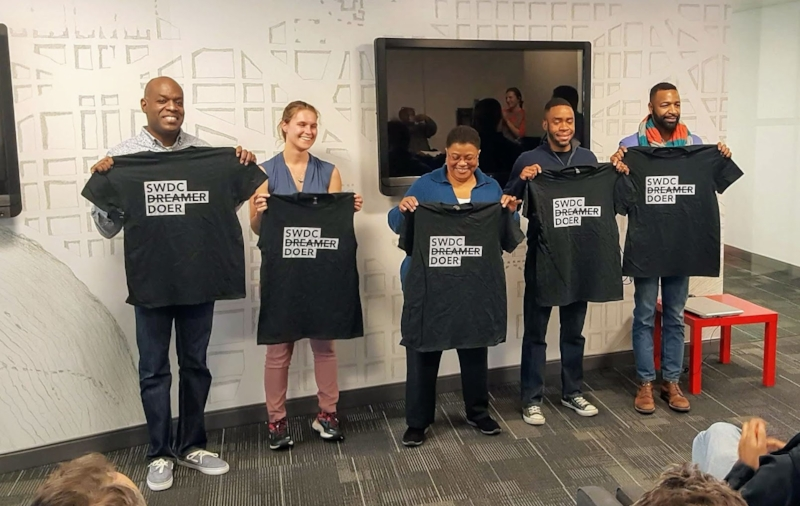 Five finalist from SWBID and SWNA's SECOND pocket change event in OCTOBER 2018.