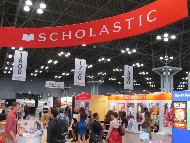 Publishers' exhibition spaces at Book Expo America
