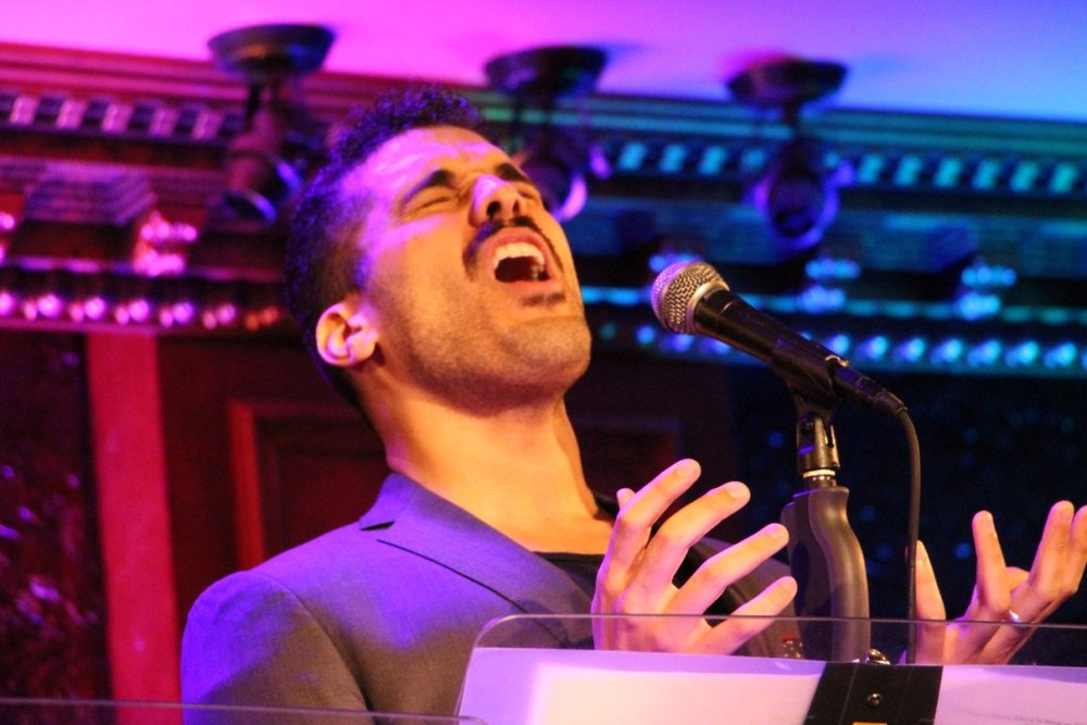 Joel Perez in  The Songs of Simone Allen at Feinstein's/54 Below  (2018)