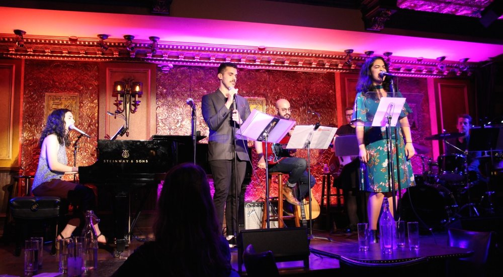 Joel Perez & Mayelyn Perdomo in  The Songs of Simone Allen at Feinstein's/54 Below  (2018)