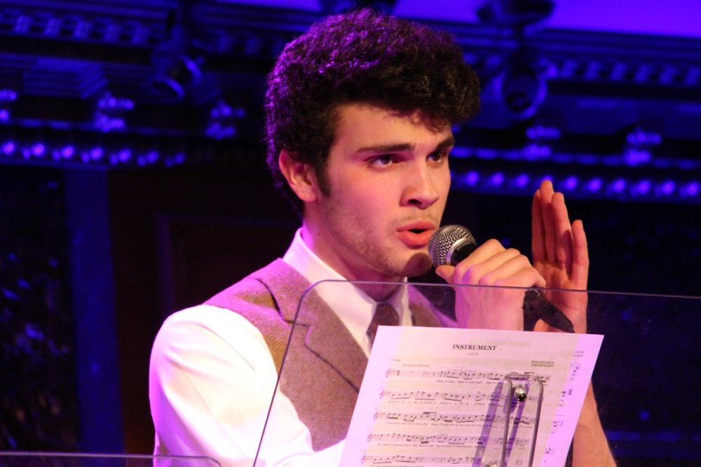 Ed Rosini in  The Songs of Simone Allen at Feinstein's/54 Below  (2018)