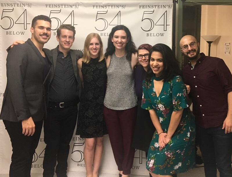 With Joel Perez, Dan Berkery, Grace Oberhofer, Magda Kress, Mayelyn Perdomo, & Chris Anselmo at  The Songs of Simone Allen at Feinstein's/54 Below  (2018)