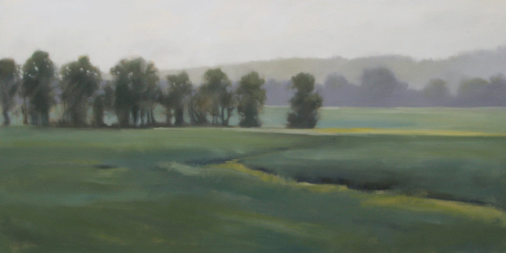 Fields Path, 24x48 inches