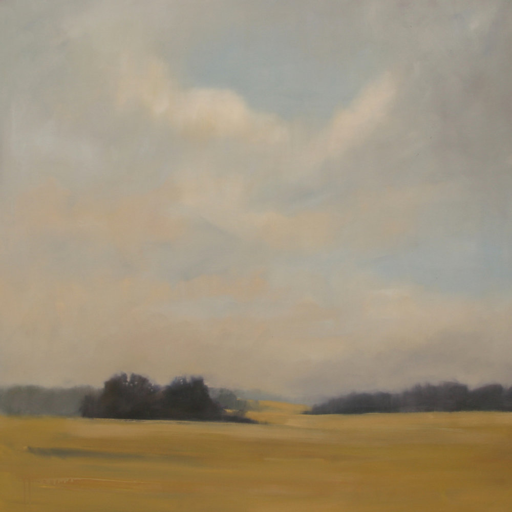 Weight of Harvest, 48x48 inches