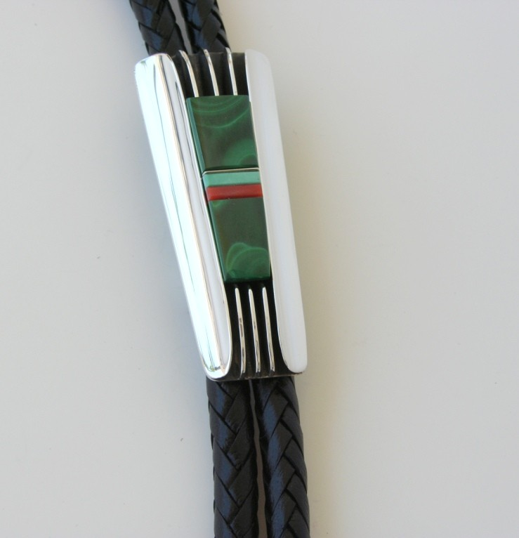 Santa Fe Style Malachite Inlay