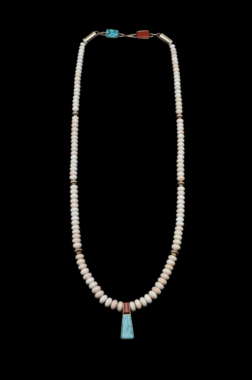 Peruvian shell necklace