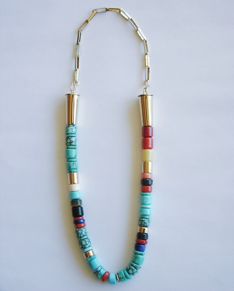 Versatile Gold and Turquoise necklace