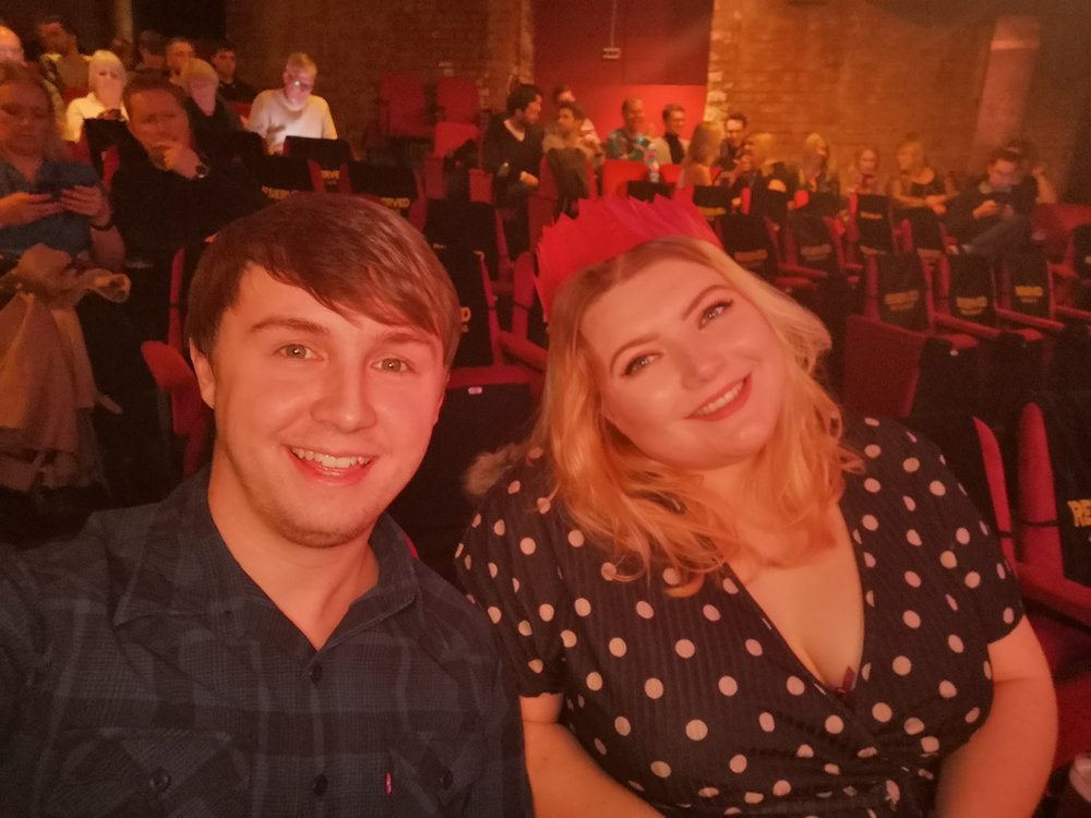 Went to the Comedy Story in Manchester