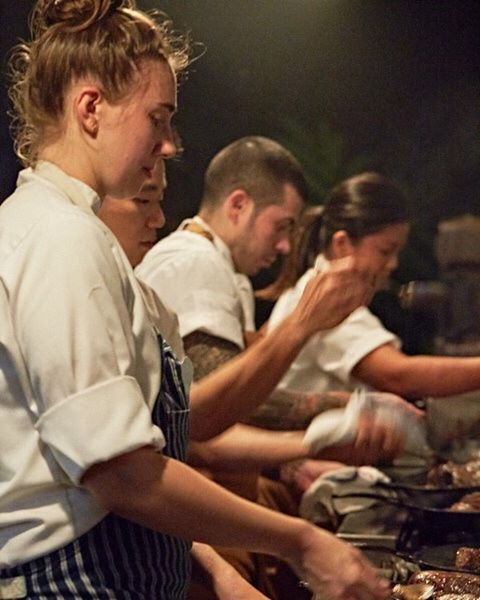 Maui Chefs Table tonight! A rare 2 seats open....book now by calling 808.270.0333. See these chefs rock it out.  #millhousemaui #mauichefstable