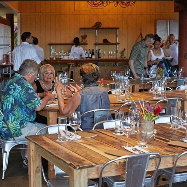Join the party! We still have a few seats for you this weekend at #mauichefstable  Call 808.270.0303 to reserve. #mauitropicalplantation #millhousemaui