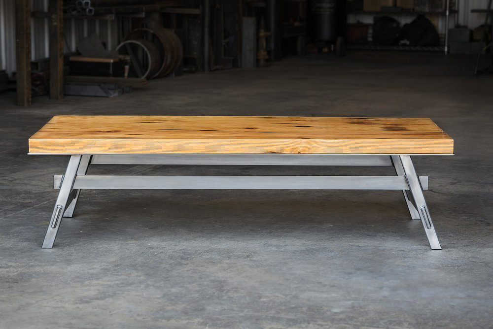 "Pedestal Collection  -  Coffee Table  -  60"" x 30"""