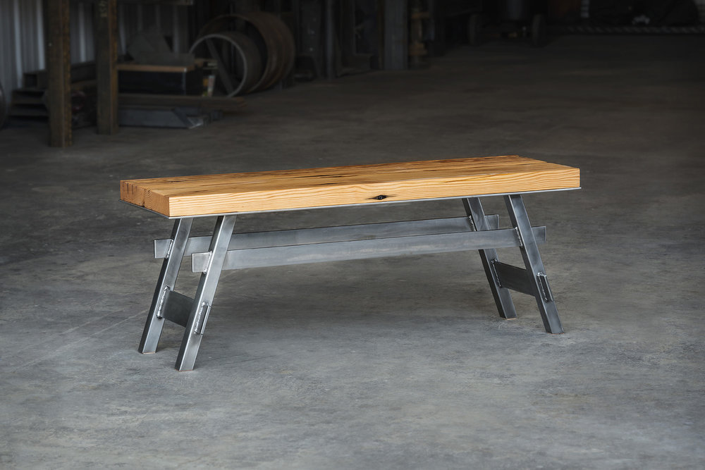 "Pedestal Collection  -  Bench  -  48"" x 15"""