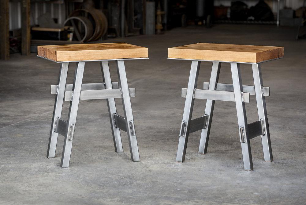 Crucible  -  Pedestal End Table