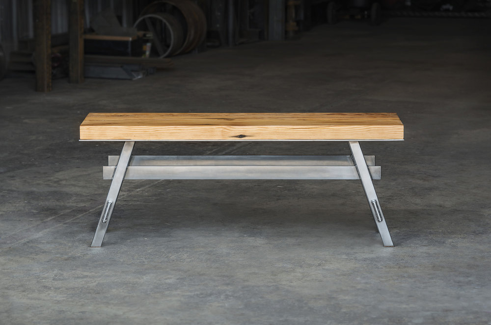 Crucible  -  Pedestal Bench