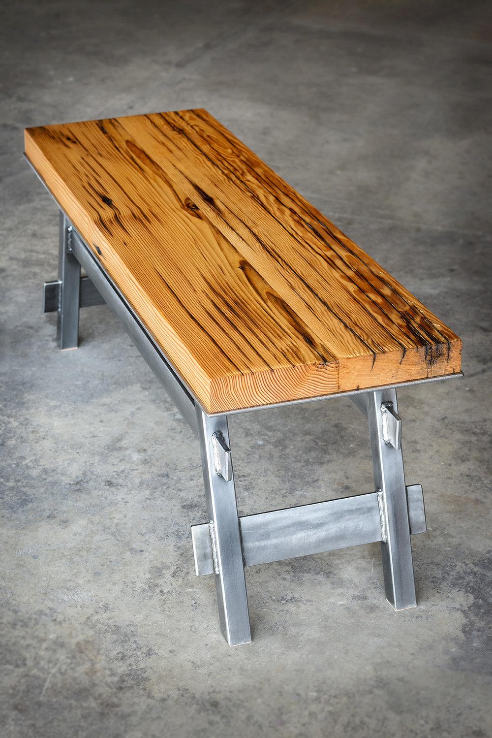 Crucible  -  Pedestal Bench