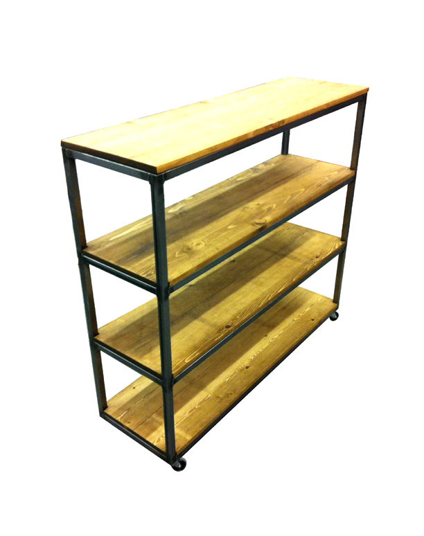 Retail Shelving Rolling Rack