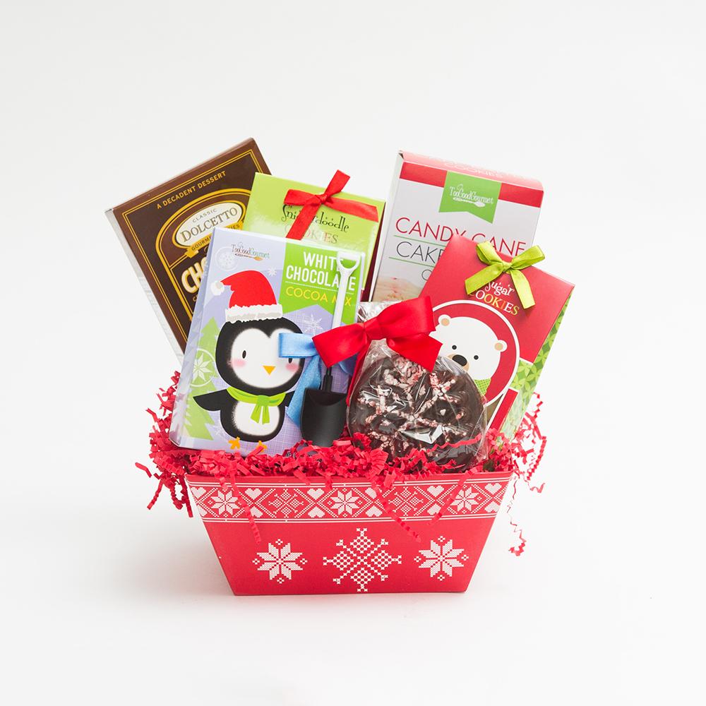 Santa's Sweets Basket