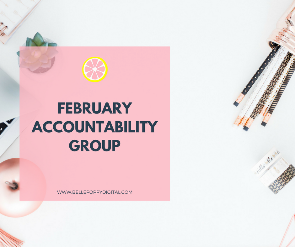 Join the February Accountability Group