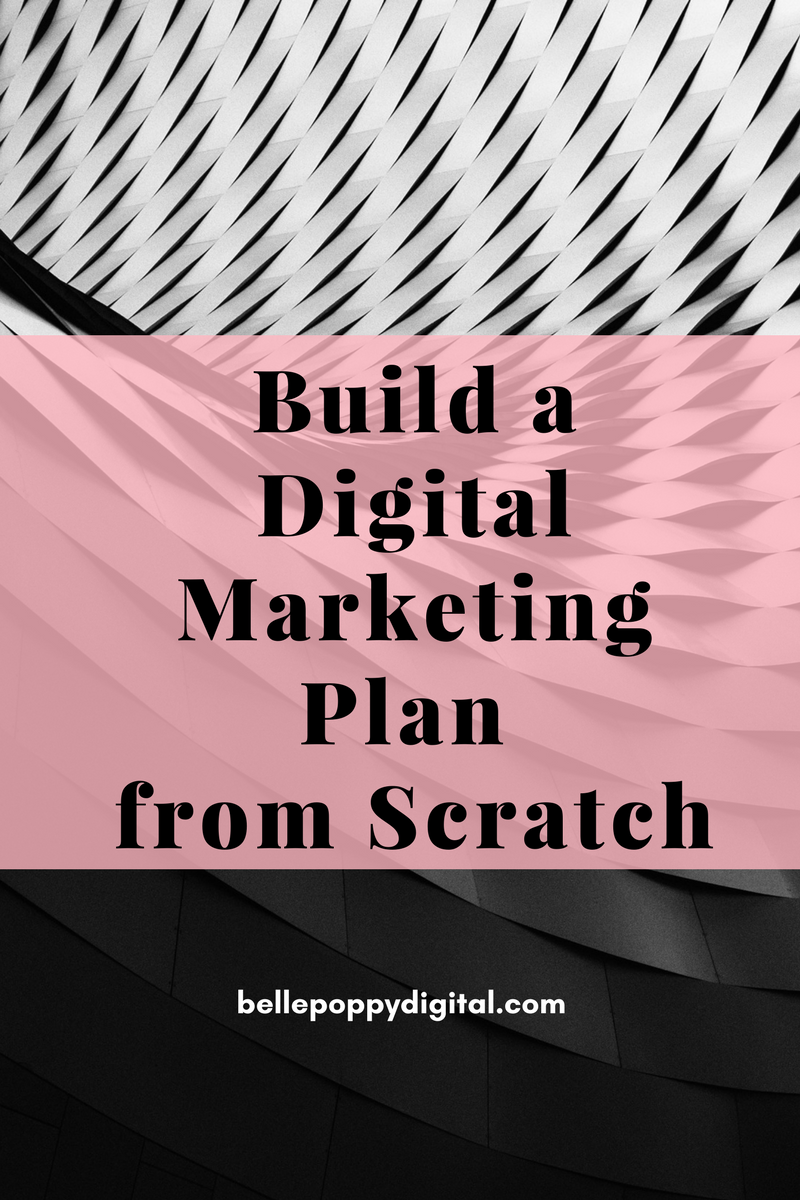 Build your digital marketing plan from scratch