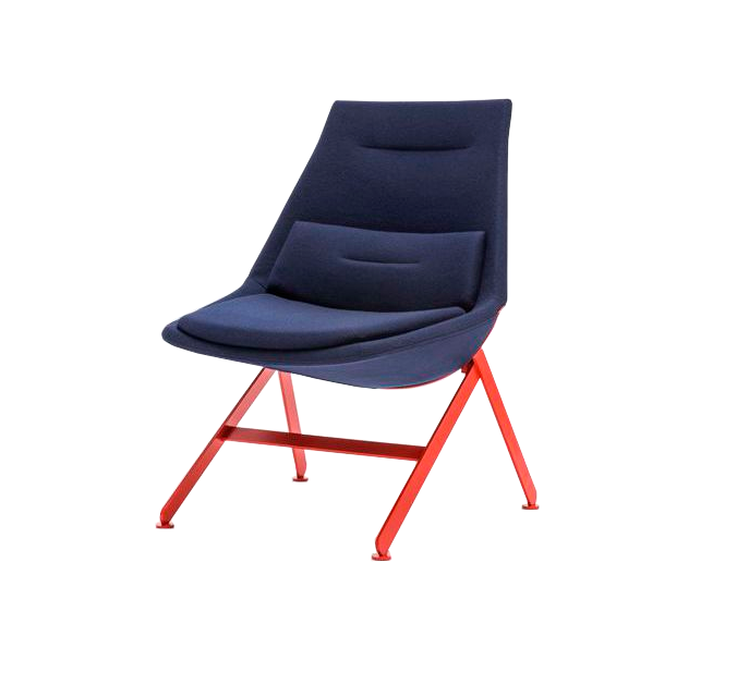 modern blue chair red legs.png