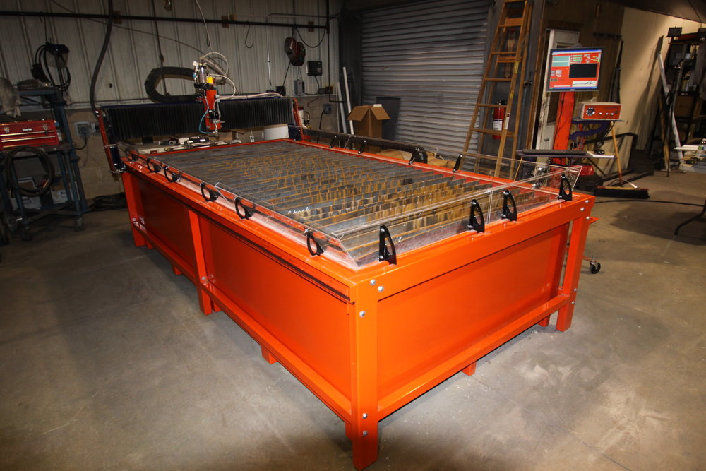 BurnTables 5x10 WaterJet Table