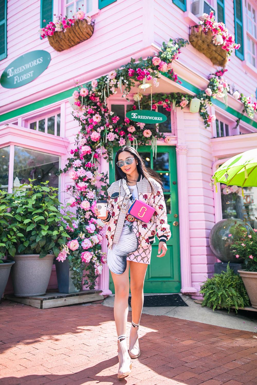 Rose Novelty - RTW: Fabiana CStylist: Holly PanPhotographer: Melanie YuLocation: Washington, D.C.
