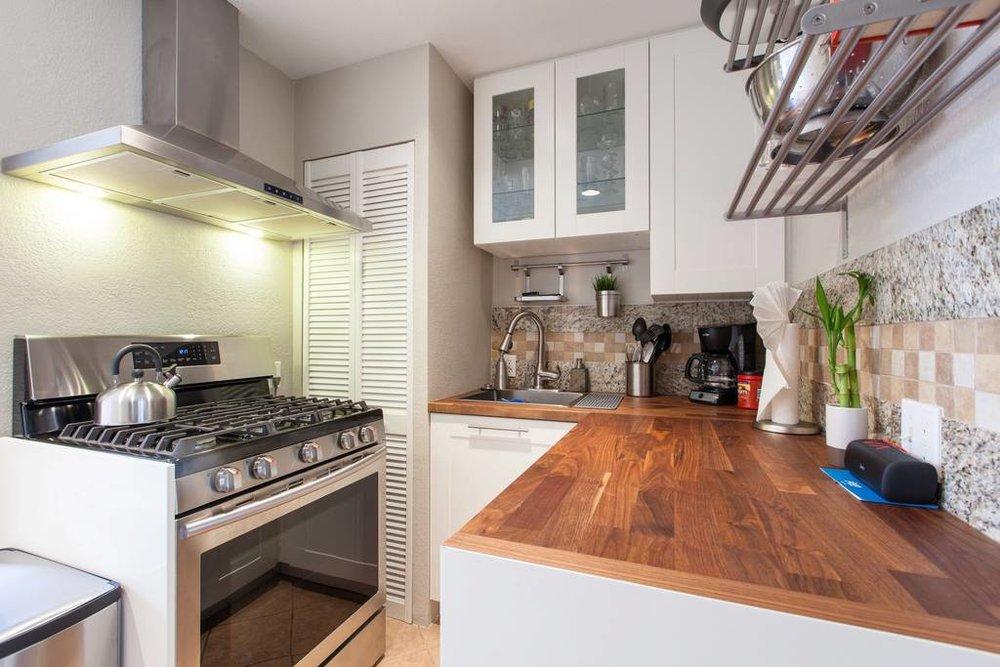 Denver Airbnb Kitchen - Urban Bungalow